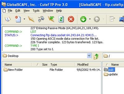 Cuteftp 8.0